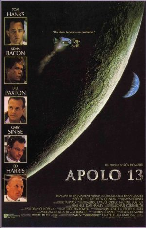 "Poster for the movie ""Apolo 13"""