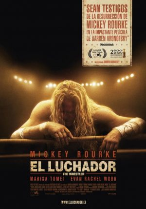 "Poster for the movie ""El luchador"""