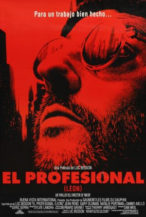 "Poster for the movie ""El profesional (Léon)"""