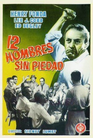 "Poster for the movie ""12 hombres sin piedad"""