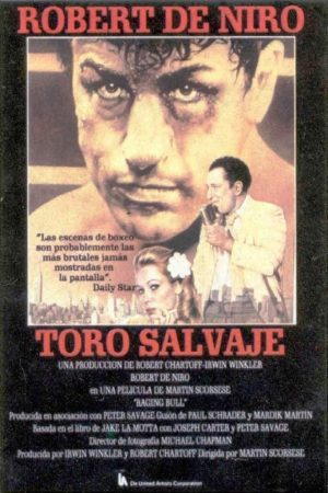"Poster for the movie ""Toro salvaje"""