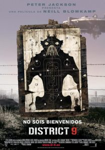 "Poster for the movie ""District 9"""