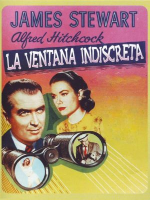 "Poster for the movie ""La ventana indiscreta"""
