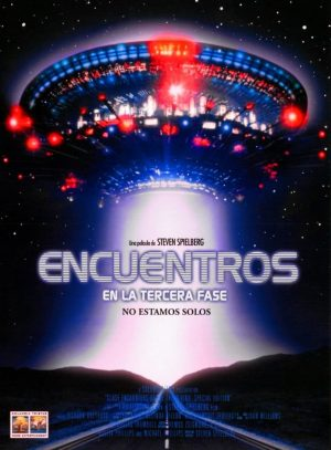 "Poster for the movie ""Encuentros en la tercera fase"""