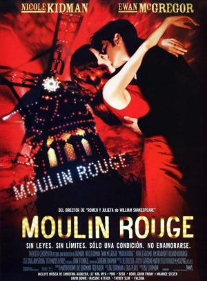 "Poster for the movie ""Moulin Rouge"""