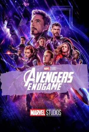 "Poster for the movie ""Vengadores: Endgame"""