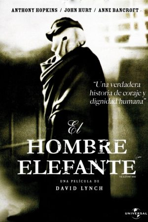 "Poster for the movie ""El hombre elefante"""