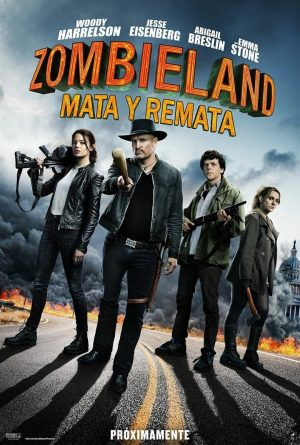 "Poster for the movie ""Zombieland: Mata y remata"""