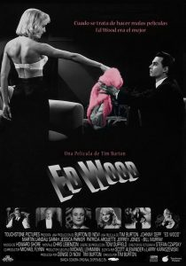 "Poster for the movie ""Ed Wood"""