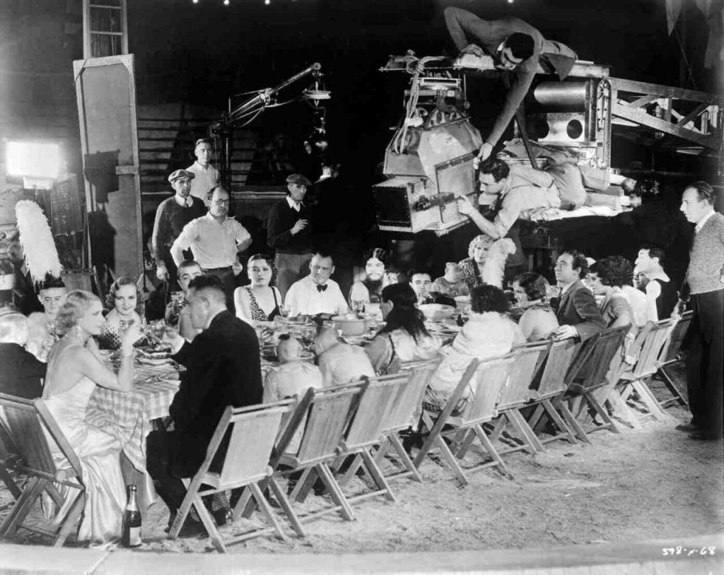Tod Browning directing Freaks