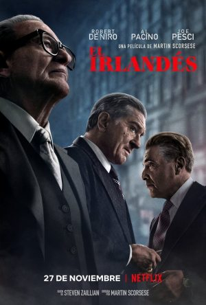 "Poster for the movie ""El irlandés"""