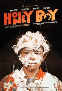 Póster de Honey Boy con Noah Jupe