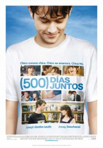 "Poster for the movie ""(500) días juntos"""