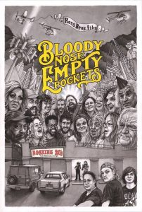 """Poster for the movie """"Bloody Nose, Empty Pockets"""""""